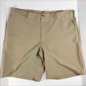 {PGA TOUR} Golf Shorts• Men's 42• Khaki